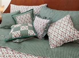 Bed linens and decorative pillow cases